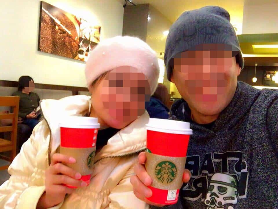 国際結婚し来日した後、日本のスターバックスでラテを飲みました