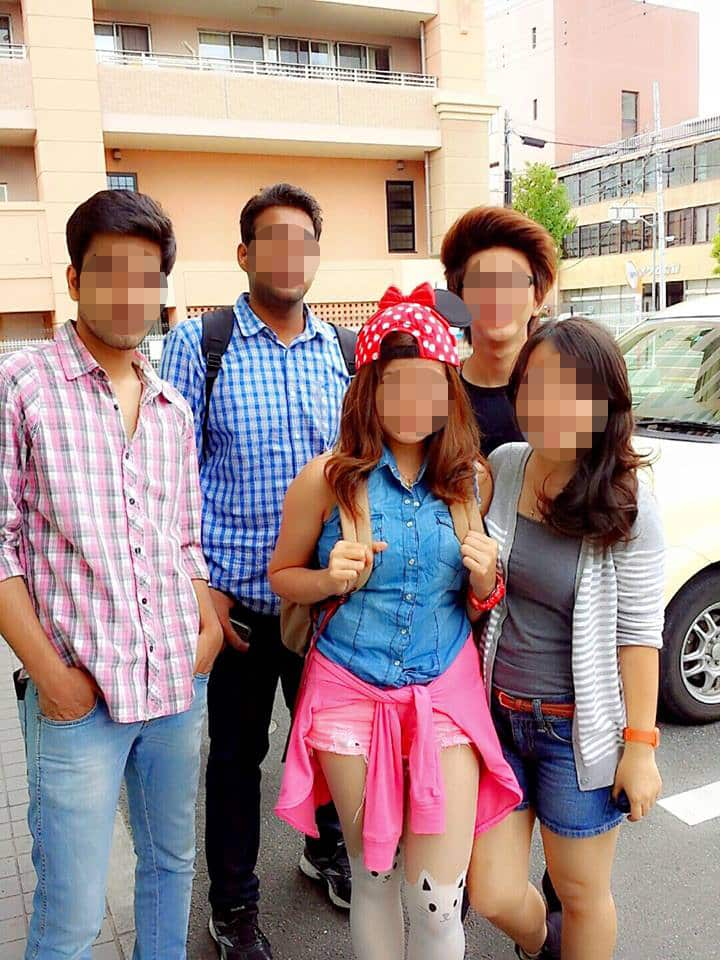 国際結婚して日本に来てから日本語学校に通っています