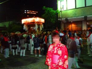 国際結婚し来日した後、浴衣を着て日本の夏祭りに行きました