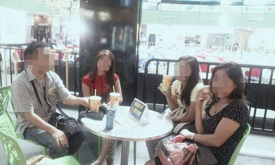 国際結婚希望のフィリピン女性たちとカフェにてお見合い
