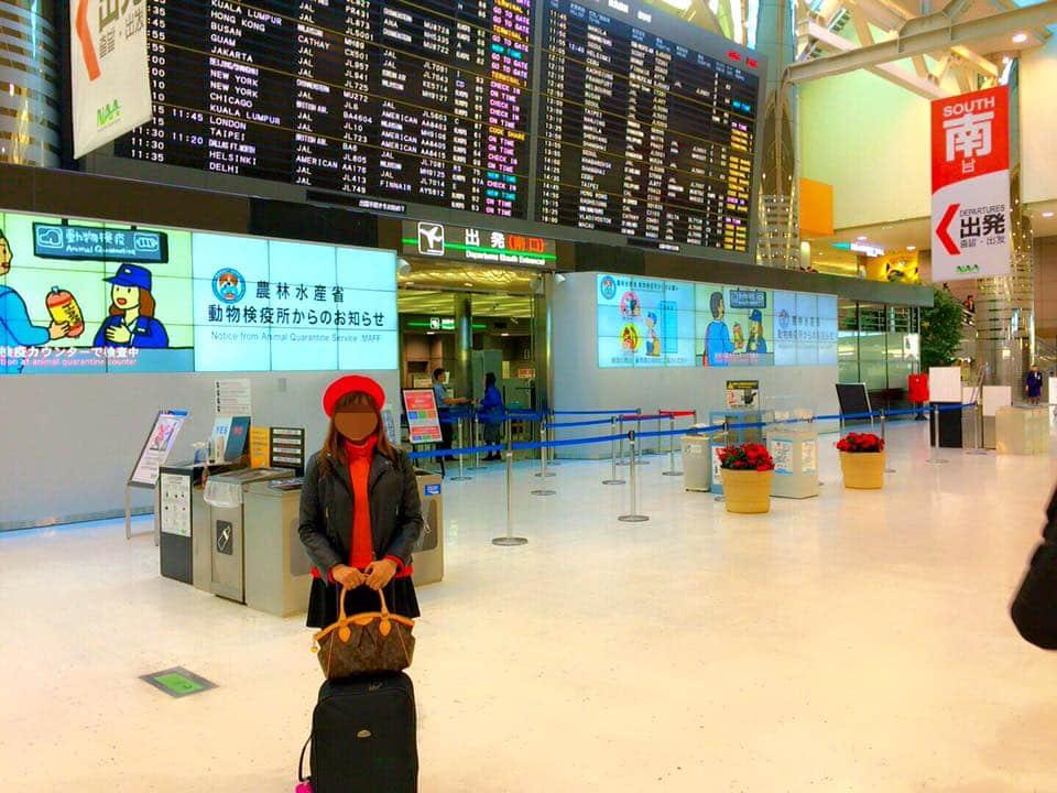 成田空港からフィリピンへ初めての里帰り旅行