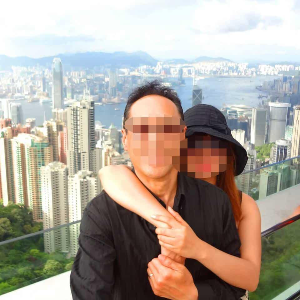 国際結婚し来日した後、香港へ旅行 - ビクトリアピーク