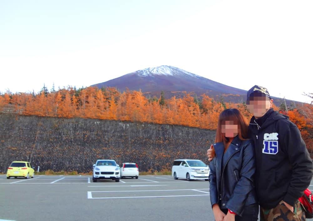 国際結婚し来日した後、富士山へ観光に行きました