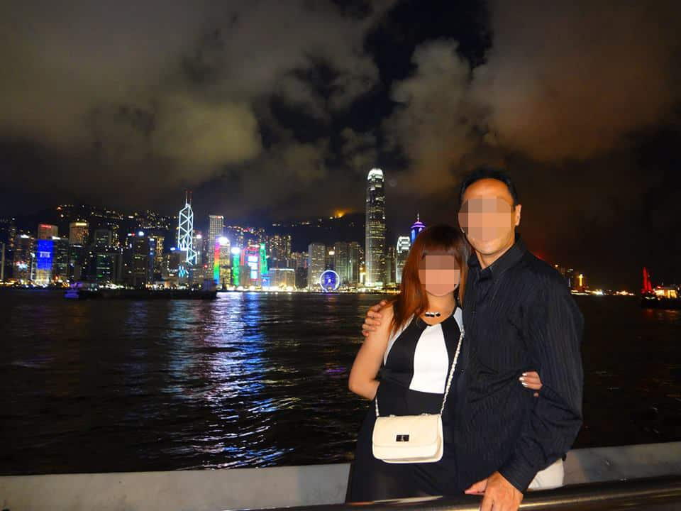 国際結婚した後、香港へ旅行 - シンフォニーオブライツ