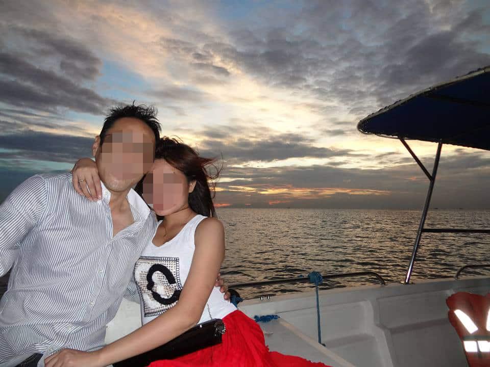 国際結婚を決めた美人さんとのデート - 夕日のマニラ湾クルーズ