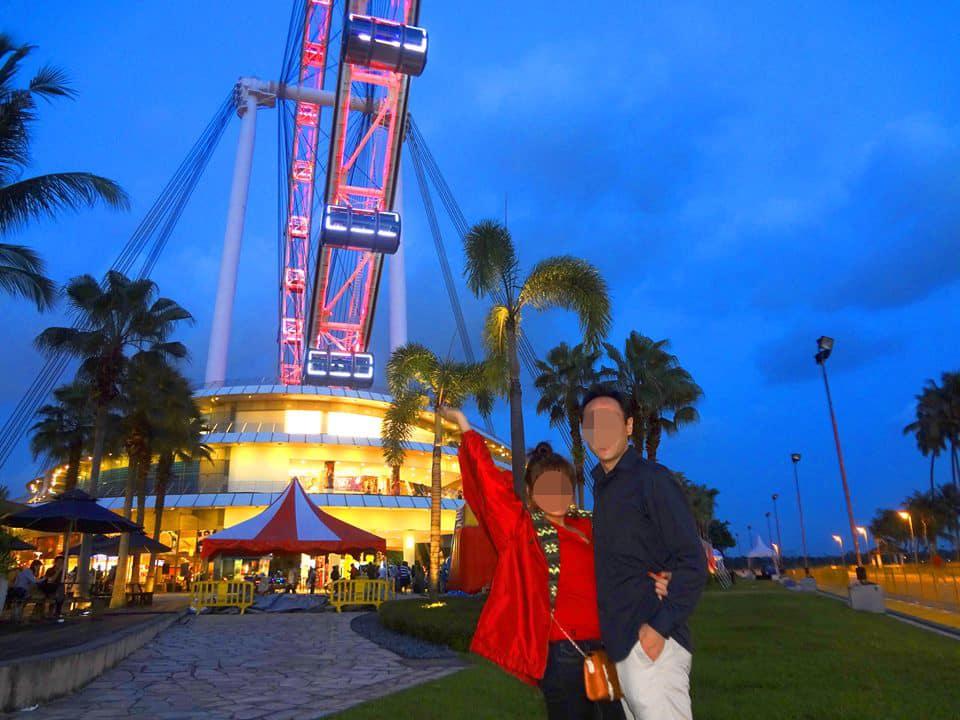 国際結婚した後、シンガポールへ旅行 - シンガポール フライヤー