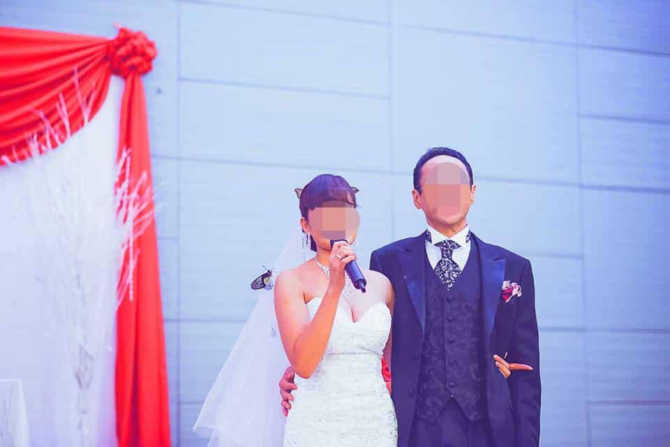 結婚式 - 新婦からも参列者へ謝辞