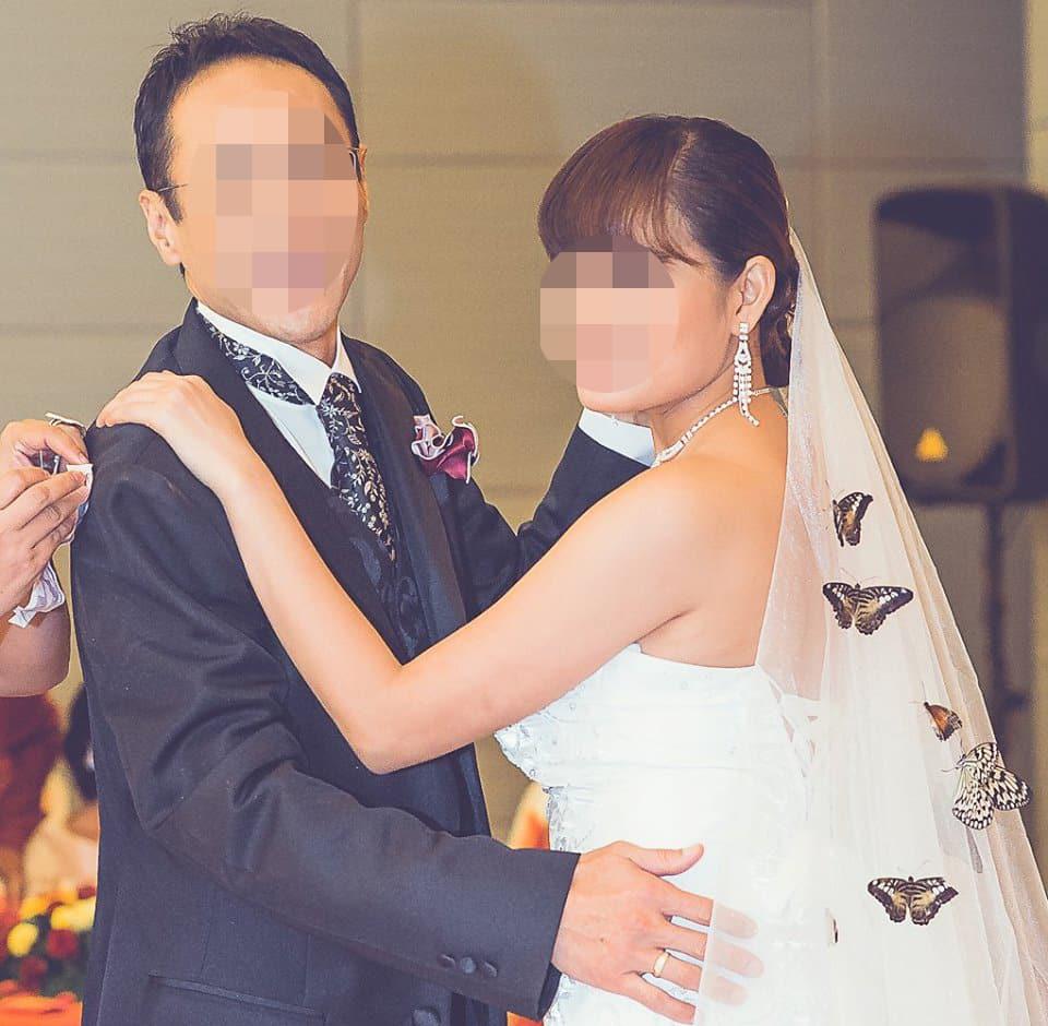 結婚式での新郎新婦ダンス