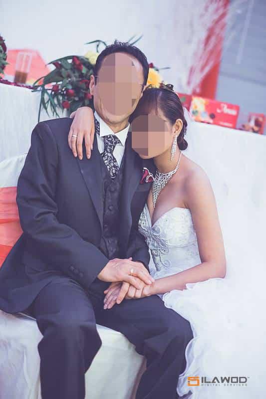 美人との結婚式 - 記念撮影