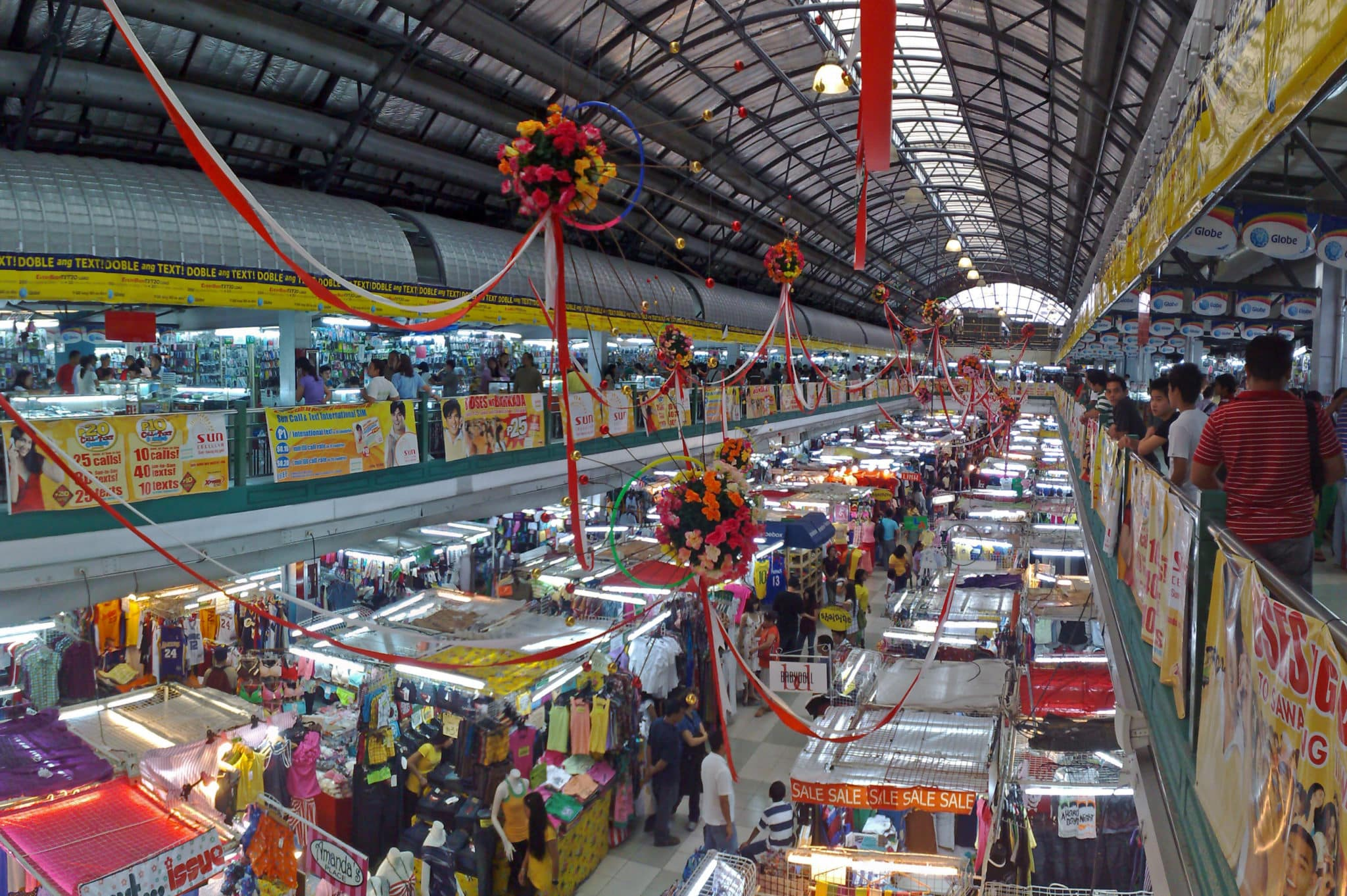 フィリピンのローカルマーケット グリーンヒルズ