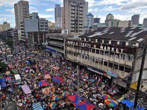 フィリピンのローカルマーケット ディビソリア