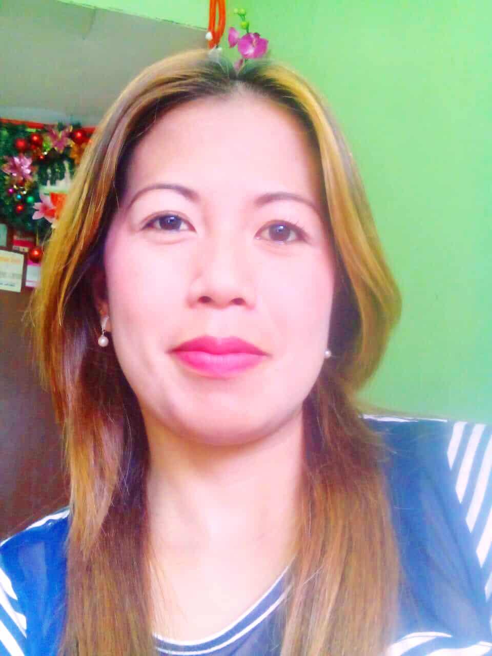 フィリピン女性の写真-国際結婚希望のマリアカトリーンさん