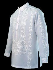 国際結婚に係る雑知識 フィリピンの正装 - バロンタガログ