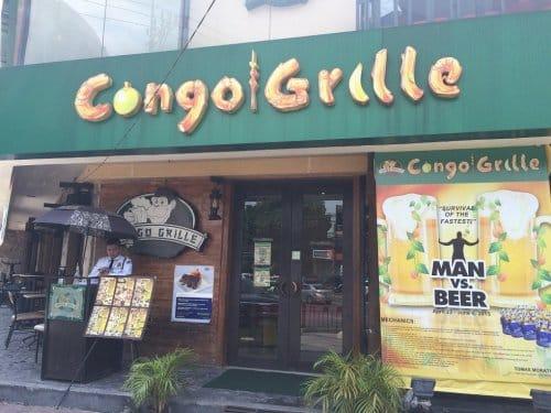 国際結婚希望の女性と行く地元レストラン コンゴグリル