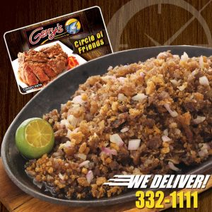 フィリピンのレストラン ジェリースグリル