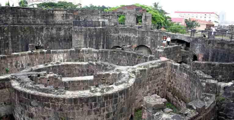 フィリピンの観光名所 イントラムロス