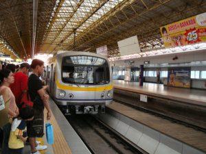 フィリピンの電車LRT2