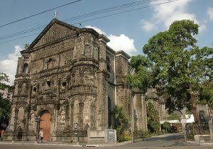 フィリピンの観光名所 マラテ教会