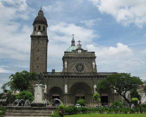 フィリピンの観光名所 マニラ大聖堂