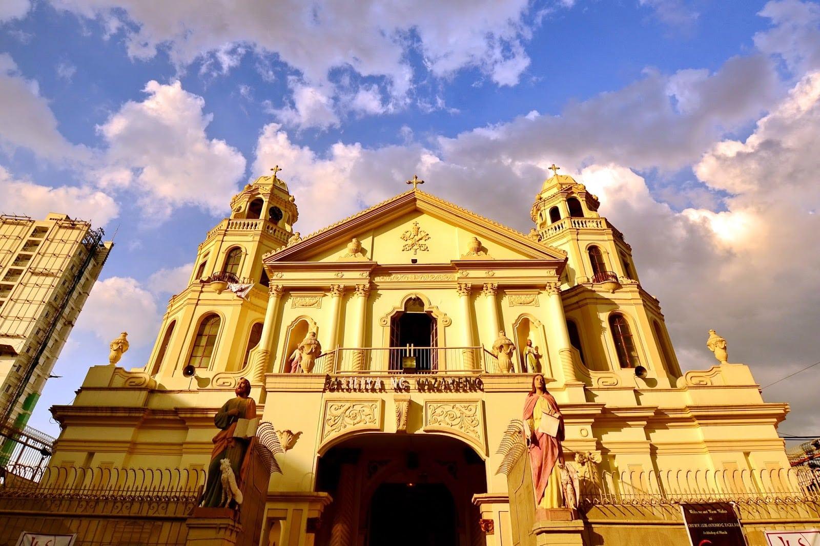 フィリピンの観光名所 キアポ教会