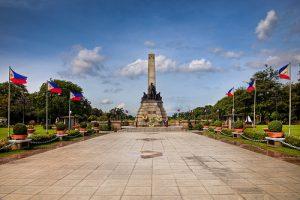 フィリピンの観光名所 リサール公園