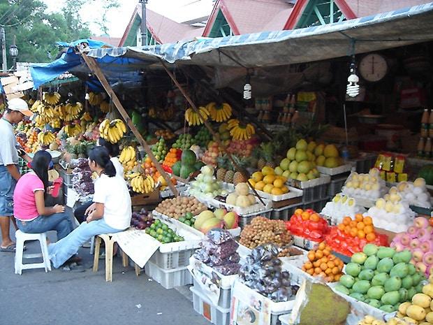 フィリピンの市場 サン・アンドレアス・マーケット