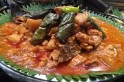 国際結婚希望の女性と食べる料理  ビナーゴーガンバーボイ