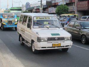 フィリピンの乗り物 FX