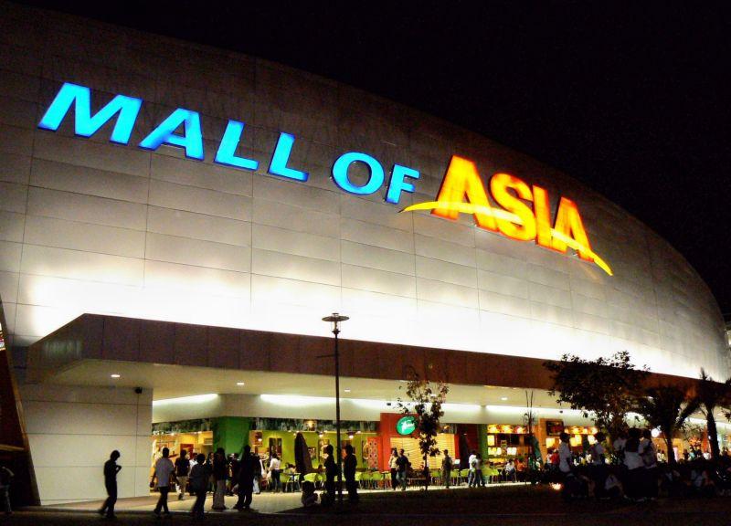国際結婚希望の女性と行く大型ショッピングモール SM モールオブエイジア MOA