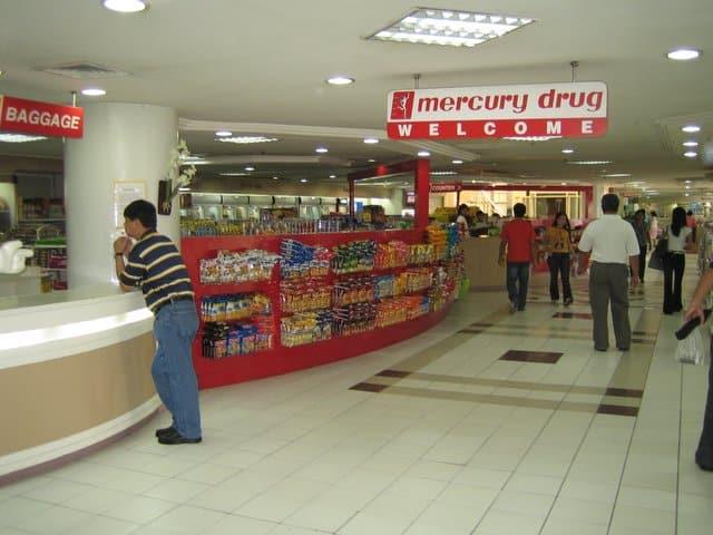 フィリピンのドラッグストア マーキュリー