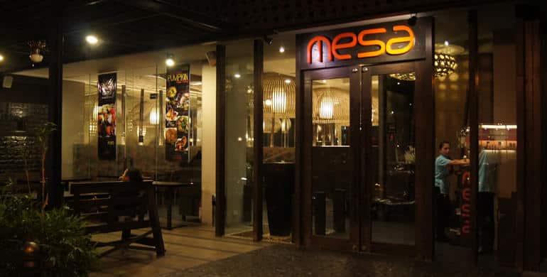 国際結婚希望の女性と行く地元レストラン メサ