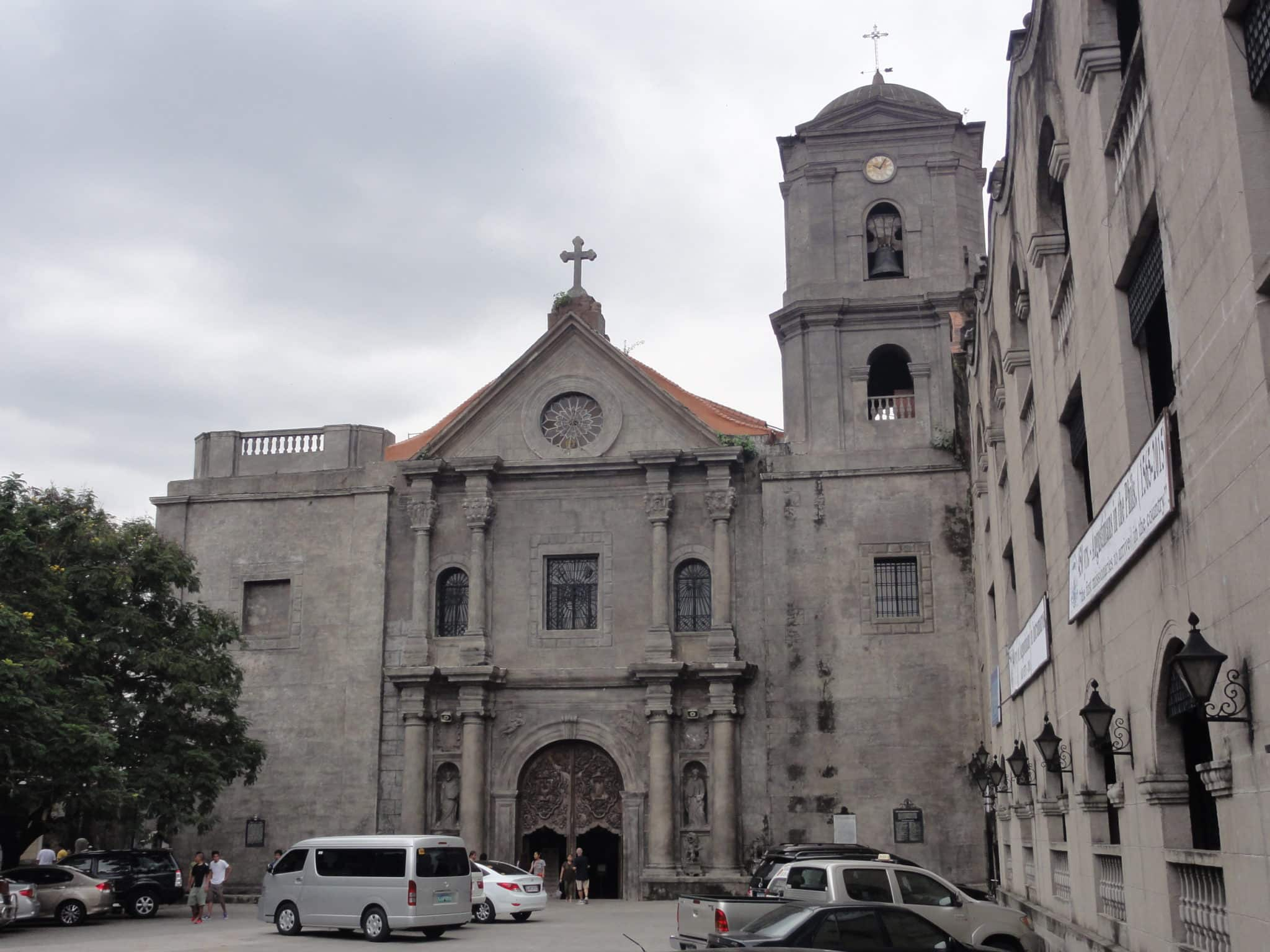 国際結婚希望の女性と行く観光名所 サン・アグスチン教会