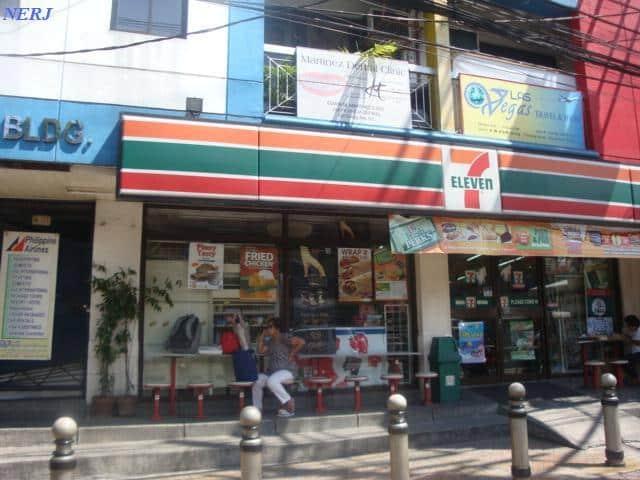 フィリピンの日系コンビニ セブンイレブン