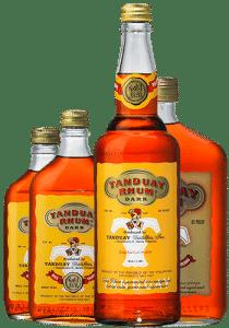 現地のラム酒 タンデュアイ
