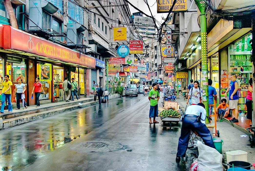 地元のマーケット オンピン通り - ゴールドを買うならこのストリート