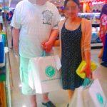 フィリピン女性の婚約者とお見合い後のデート – お買い物