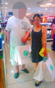 お見合い後のデート – お買い物