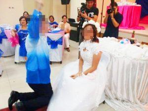 結婚式 - ガータートス2