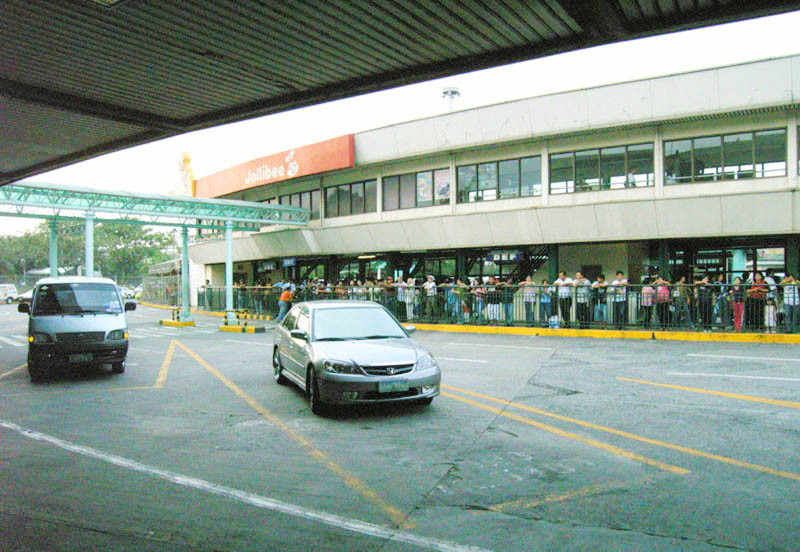 フィリピンの空港 ターミナル1