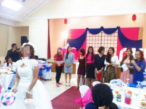 結婚式 - ブーケトス