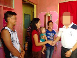 フィリピン女性のご両親にご挨拶