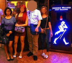 フィリピン女性と夜の街へ