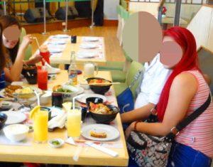 フィリピン女性とお見合い – レストランにて