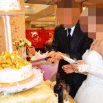 結婚式 - ウェディングケーキ入刀