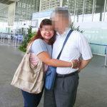 空港で婚約者と | 国際結婚フィリピン