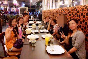 フィリピン人女性とレストランでお見合い