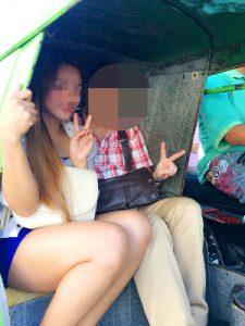 フィリピン女性とお見合い中 – トライシクル体験