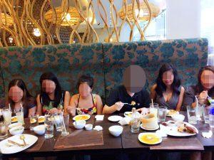 フィリピン女性とレストランでお見合い