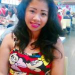 フィリピン女性の写真-国際結婚希望のレジーンさん