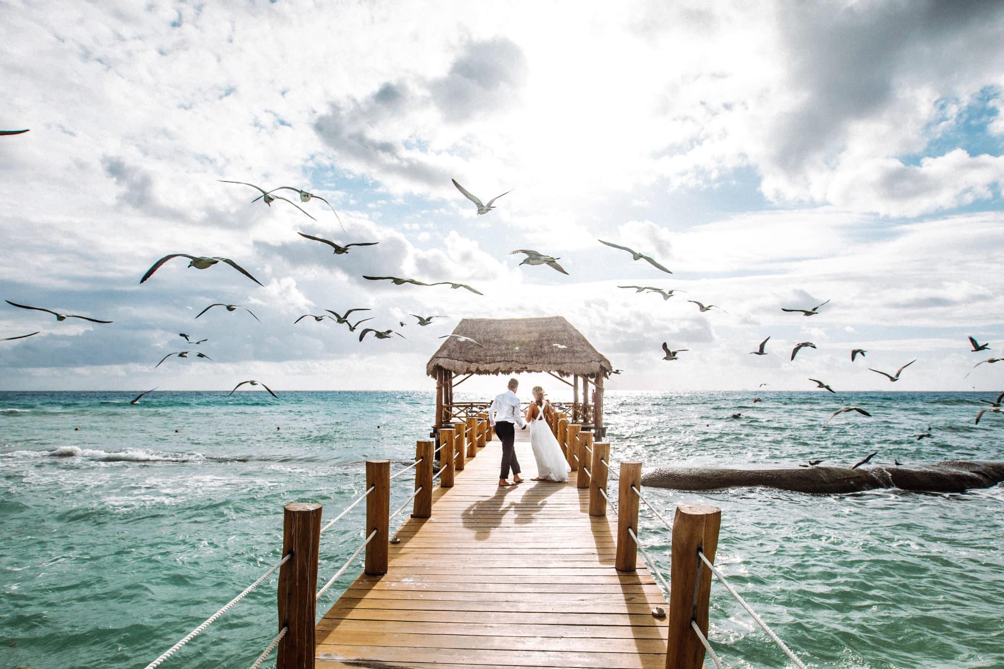 フィリピンでの結婚式 | 国際結婚のカップル